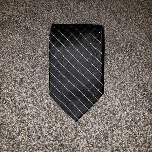 Stafford 100% Silk Navy Dot Geometric Mens Tie